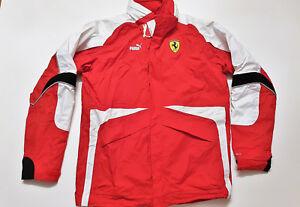 Puma-Ferrari-Formel-1-F1-Team-Jacke-Allwetterjacke-L