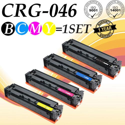4 PK 046H CMYK SET Toner For Canon 046 imageCLASS MF735Cdw MF733Cdw 1254C001
