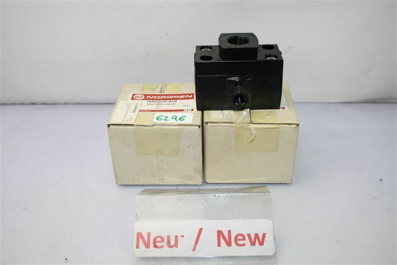 Norgen T68H-6GB-B2N Vanne D'Arrêt D'Arrêt Vanne T68H6GBB2N f34c5e