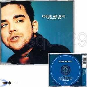 "ROBBIE WILLIAMS TAKE THAT ""OLD BEFORE I DIE"" RARE CDMAXI MADE IN ITALY - Italia - ROBBIE WILLIAMS TAKE THAT ""OLD BEFORE I DIE"" RARE CDMAXI MADE IN ITALY - Italia"