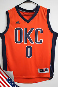 0a2f71e8b Image is loading NBA-Oklahoma-City-Thunder-Russell-Westbrook-Orange-034-