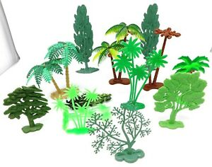 Vintage-Trees-and-Palm-Trees-New-Ray-and-Similar-1-32-Made-in-China-Hong-Kong