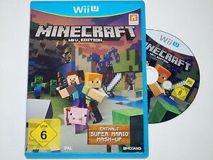Nintendo Wii U Spiel Minecraft Wii U Edition DA EBay - Minecraft online spielen wii u