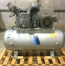 Ingersoll Rand T30 Air Compressor2 Stage15 Hp 3 Phase Withpneumatic Unloading