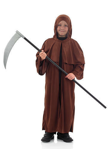 Medieval Monk Boys Fancy Dress Halloween Religious Catholic Kids Childs Costume