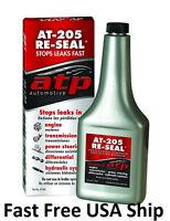 Atp Stop Leak Sealer Conditioner Truck Hydraulic Sealer Plow At-205 Two Bottles