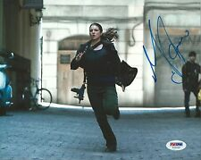 Gina Carano Signed 8x10 Photo PSA/DNA COA Haywire Picture Strikeforce Autograph