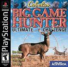 Cabela's Big Game Hunter: Ultimate Challenge (Sony PlayStation 1, 2001)