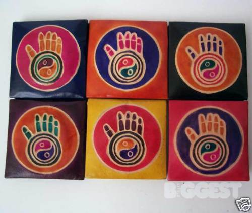 Enfants//Filles Yin Yang Porte-monnaie Chakra Religous Cadeau