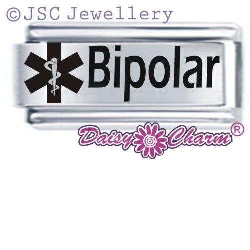 Daisy encanto italiano alerta médica-Bipolar-se adapta tamaño clásico de nominación