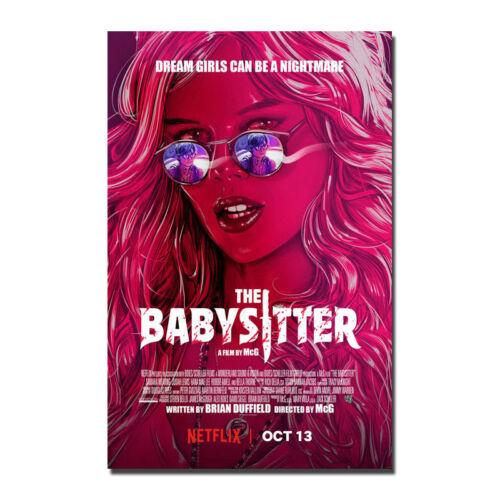 The Babysitter 2017 Bella Thorne Silk Poster Print 13x20/'/'