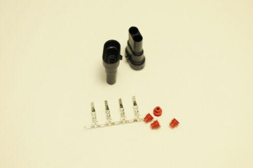 9006 HB4 9005 H10 Male connectors HID Xenon Plug Socket cap adapters 9145 Hb3 2X