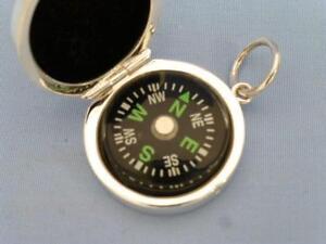Kompass-925er-Silber-Sheffield-neu-im-Geschenkkarton