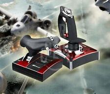 Flight Stick Control Simulator Gamepad Joystick Controller Gaming For Computer