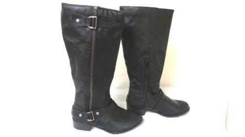 nuevo  así que para mujer Delta Alto botas Estilo 66551-Negro 151O