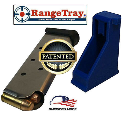RangeTray Magazine Loader SpeedLoader for Springfield XDs 45 ACP .45acp .45 BLUE