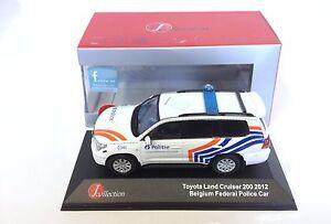 Toyota-Land-Cruiser-200-Police-Belge-1-43-IXO-JCL-VOITURE-DIECAST-MODEL-JC297