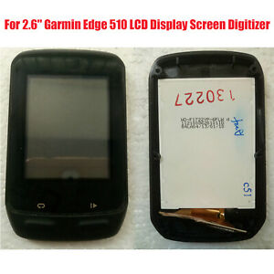 LCD-Display-Touch-Screen-Digitizer-W-Frame-Replacement-For-Garmin-Edge-510-GPS