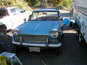 TWO 1965 TRIUMPH HERALD 1200 CONVERTIBLE PROJECTS