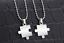 Collana-Coppia-Collane-Puzzle-Cuore-Uomo-Donna-Fidanzati-Ciondolo-Paio-Spezzato miniatura 5