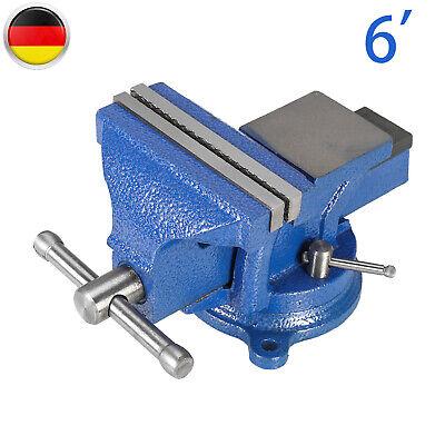 Schraubstock Parallel 100mm//150mm//200mm Amboss für Werkbank drehbar Teller DE