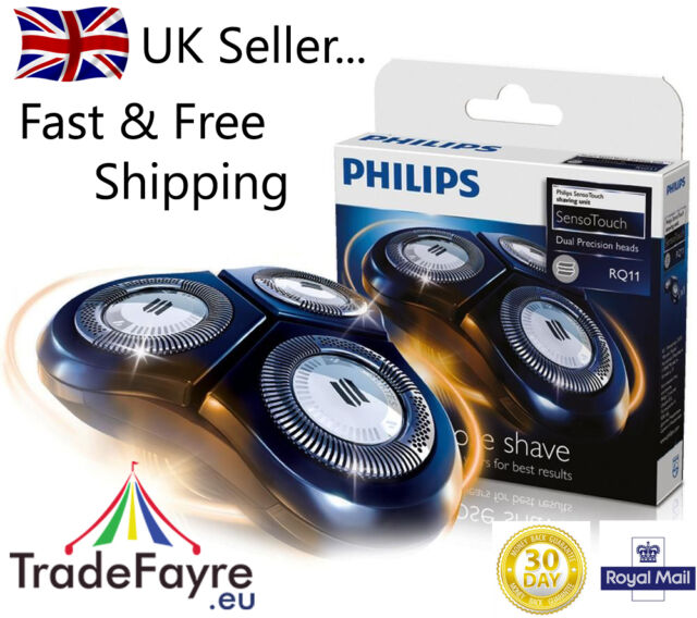 WAREHOUSE DEALS - PHILIPS RQ11 SENSOTOUCH REPLACEMENT SHAVING HEADS