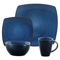 Soho Lounge Square 32-piece Dinnerware Set Plates Cups Mugs Dishes