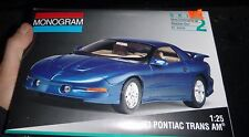 Monogram 1993 Pontiac Firebird Trans Am Model Car Mountain 1/25 FS