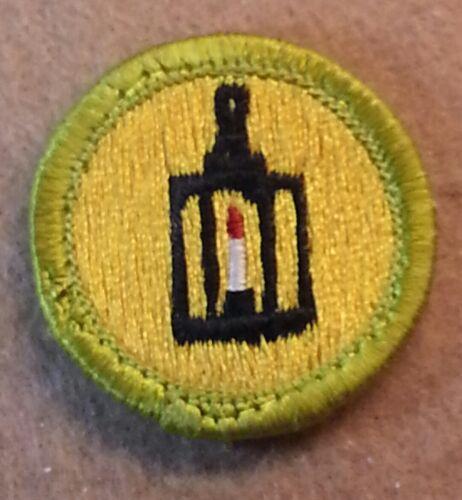 BSA METAL WORK  Merit Badge Type H 1972-2002 PLASTIC BACK   B00083