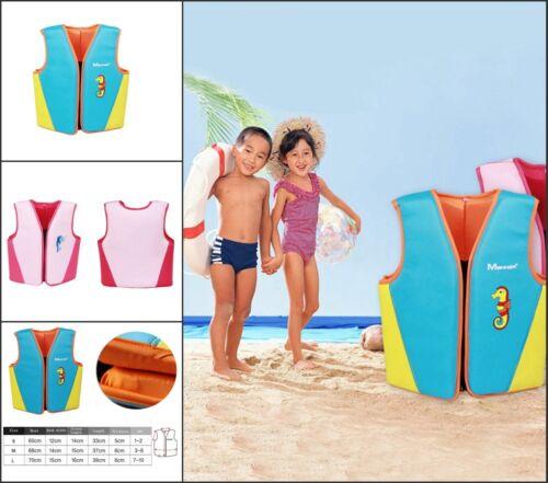 Kinder Schwimmen Float Weste Schwimmbad Hilfe Age2-10 Rettungsweste Sommerferien
