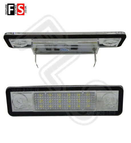 VAUXHALL OPEL LED CAR NUMBER PLATE LIGHTS ICE WHITE LED 18SMD CANBUS ERROR FREE