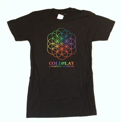 Coldplay A Head Full Of Dreams Tour Balloon Mens White T-Shirt Size S to 3XL