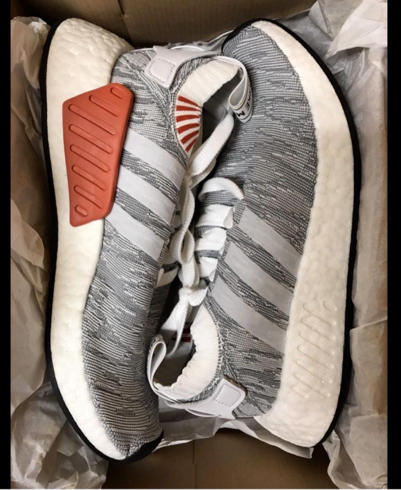 adidas originals mens nmd r2 - weiße pk primeknit mode by9410 weiße - turnschuhe d9dda2