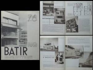 Adaptable Batir N°76 1939 Stynen, Marcel Leborgne, Delville, Van Der Hoop, Rene Simonis