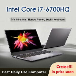 Intel Core i7-6700HQ Laptop Max UP To 16GB 1TB SSD RJ45 Office Laptop Computer