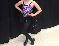 Girls Jazz Dance Costume Competition Child Large Glamour Costumes