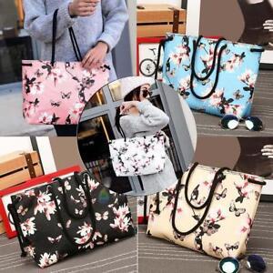 Women PU Leather Handbag Shoulder Bag Ladies