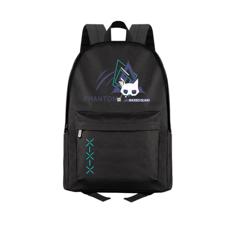 Anime Arknights PHANTOM Casual Fashion Backpack Shoulders Bag Schoolbag #M07