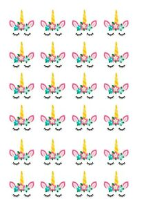 24-Edible-cupcake-fairy-cake-toppers-decorations-unicorn-heads-horns