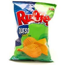 Frito Lay Ruffles Queso Flavored Potato Chips Sabritas 6.5oz Bag