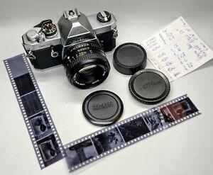 Pentax MX + (Rikenon 50mm f:1,7)  film tested.