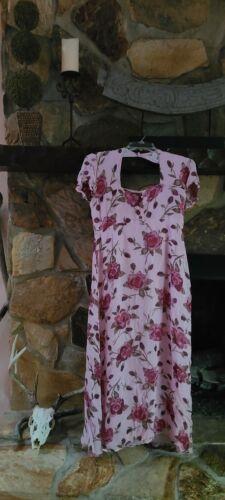 Vintage 90s Lola P. Floral Cottagecore Dress Sz.6
