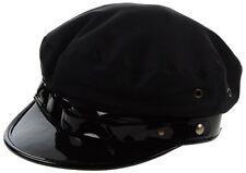 DSQUARED2 S/S 2013 BLACK CAB DRIVER HAT M S HUT CAP HOT Italian Canadian CHIC