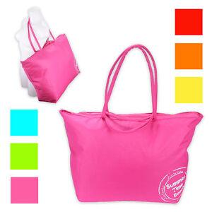XXL-Strandtasche-70-x-48-x-20cm-Badetasche-Umhaengetasche-Einkaufstasche-6-Farben