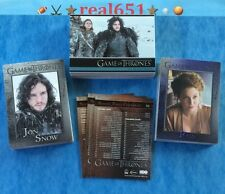 2014 Rittenhouse Game of Thrones Complete Set 1-98 | Season 3 | 9-Pocket Sleeves