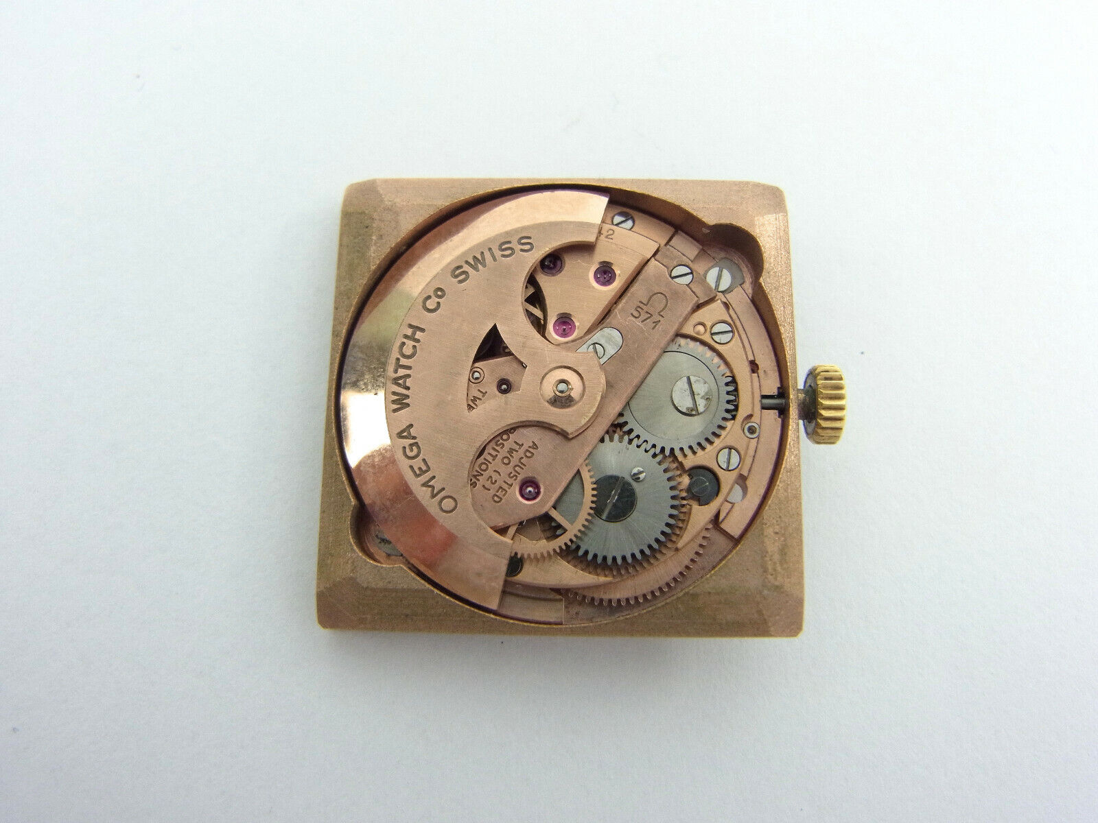 Image 1 - Omega movement works Automatic Movement Automatic Cal 571 Vintage Working well