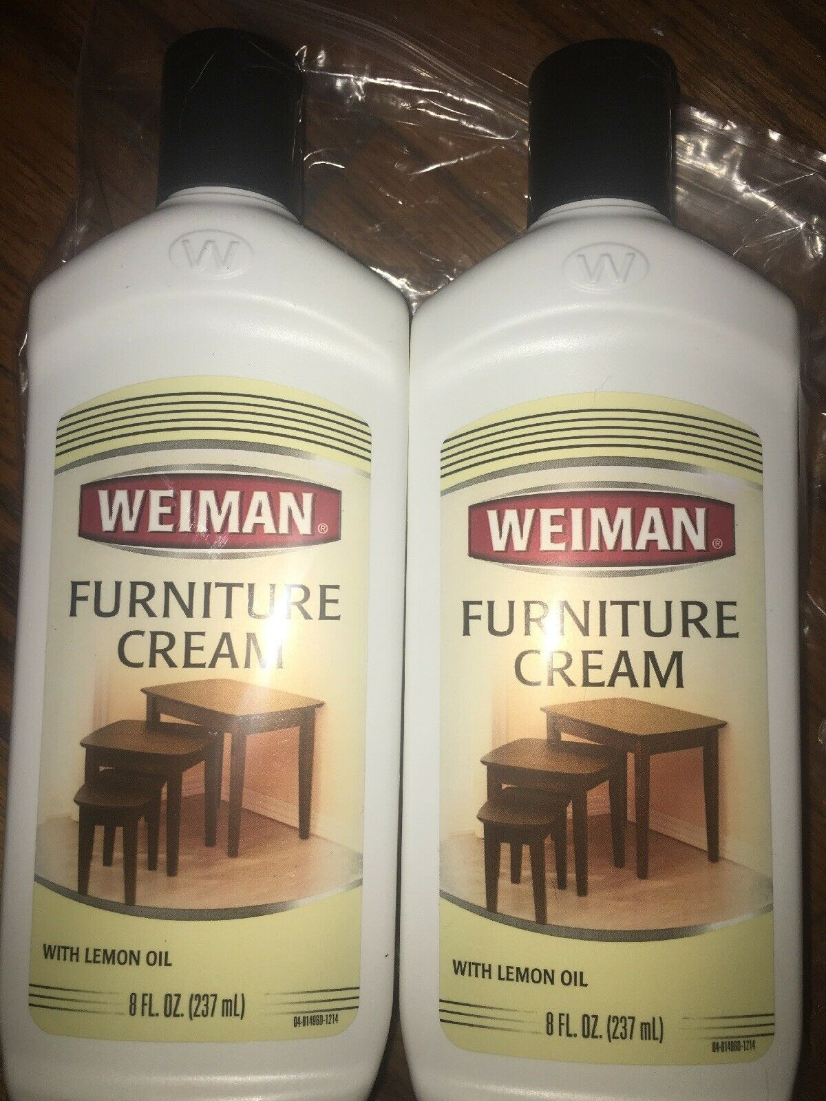 Weiman Lemon Scent Furniture Cream 8 Oz