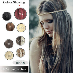 120g-7PCS-CLIP-IN-EXTENSIONS-100-NEW-REAL-HUMAN-HAIR-FULL-HEAD-THICK-STYLE-HOT