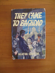 THEY-CAME-TO-BAGHDAD-AGATHA-CHRISTIE-1951-1ST-THRILLER-BOOK-CLUB-EDITION