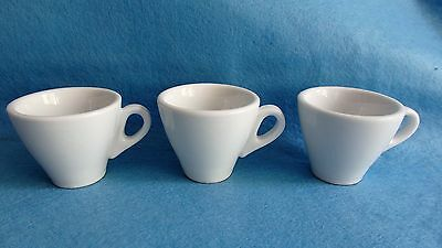 Kaffeetassen weiß 6 Stück NEU OVP Porzellan Primera Nordic 140ml elegant TOP